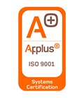 Applus+ - ISO 9001 Certificado