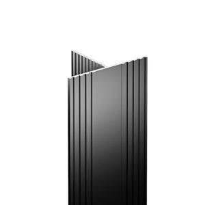 """Vertical aluminium """"TS"""" profile"""