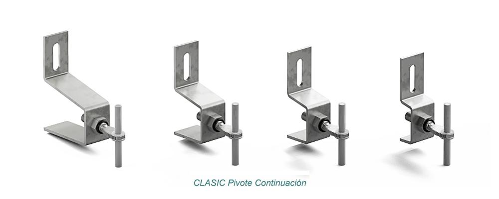 Anclaje CLASIC Pivote. Continuación - Strow Sistemas