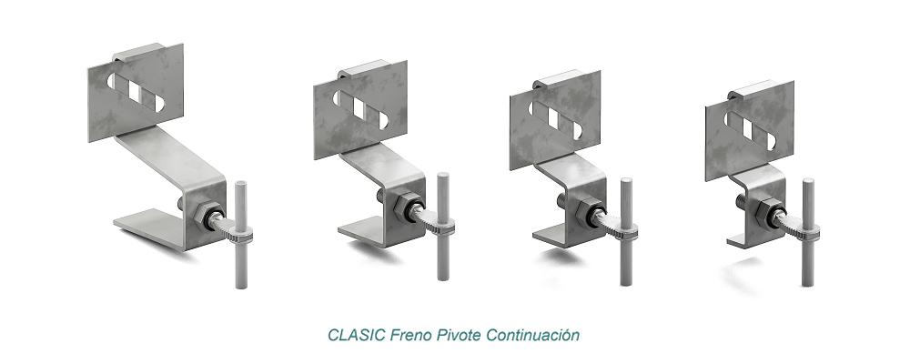 Anclaje CLASIC Pivote Freno. Continuación - Strow Sistemas