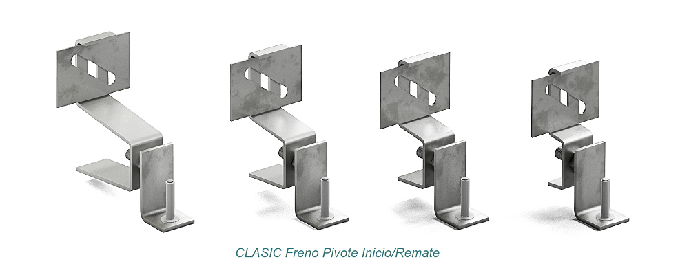 System CLASIC Pivote - Freno. Start – Finish