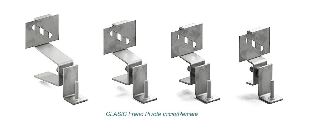 Anclaje CLASIC Pivote - Freno. Inicio - Remate - Strow Sistemas