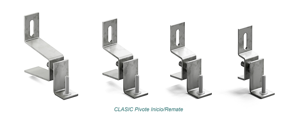 Anclaje CLASIC Pivote. Inicio - Remate - Strow Sistemas