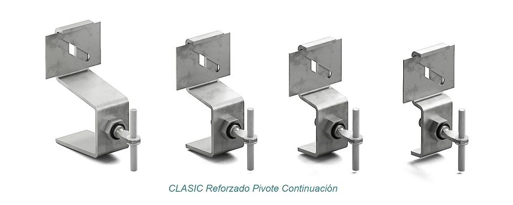 Anclaje CLASIC Pivote - Reforzado. Continuación - Strow Sistemas