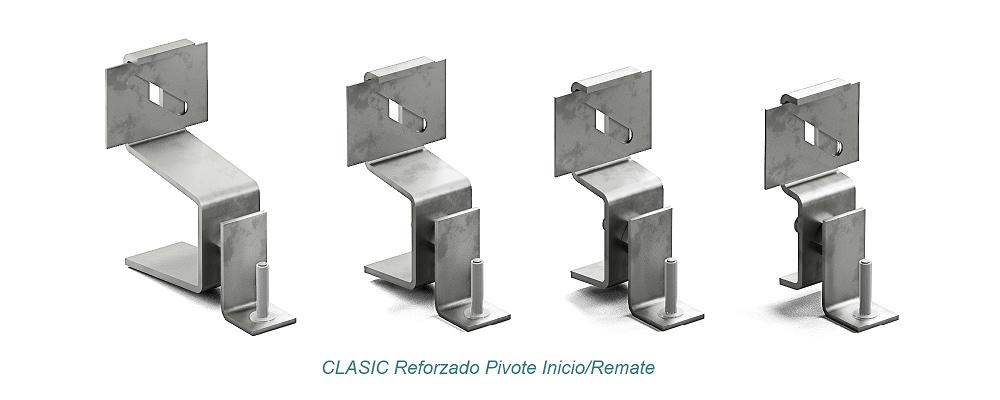 Anclaje CLASIC Pivote - Reforzado. Inicio - Remate - Strow Sistemas
