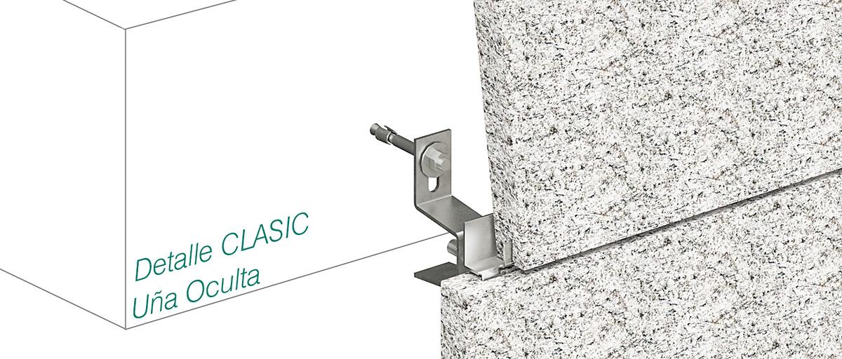 CLASIC system - Uña Oculta - Strow Sistemas