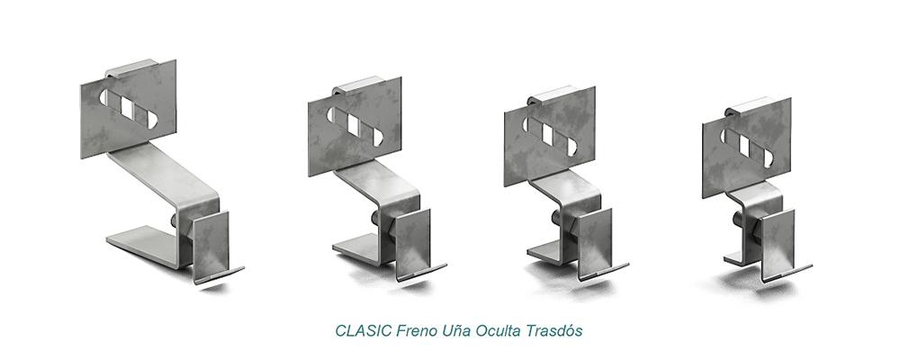 System CLASIC Hidden Clip - Freno. Extrados