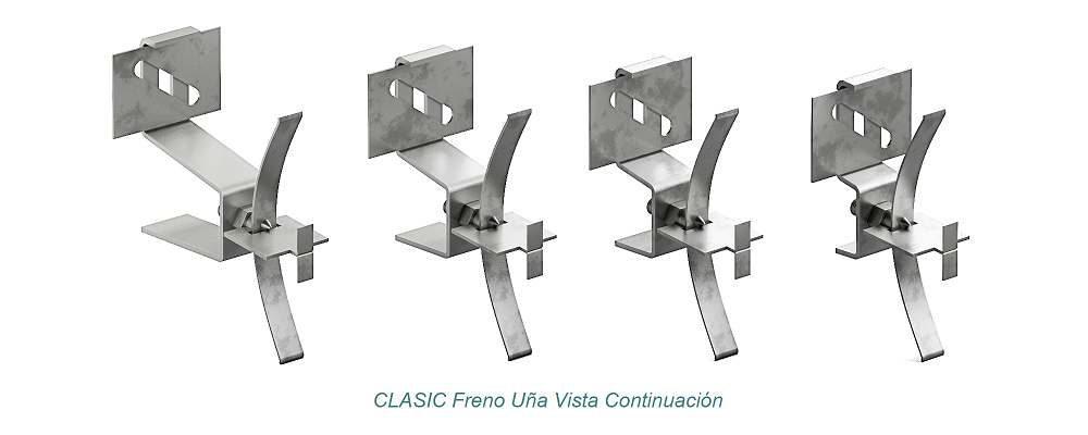 System CLASIC Visible Clip - Freno. Continuation