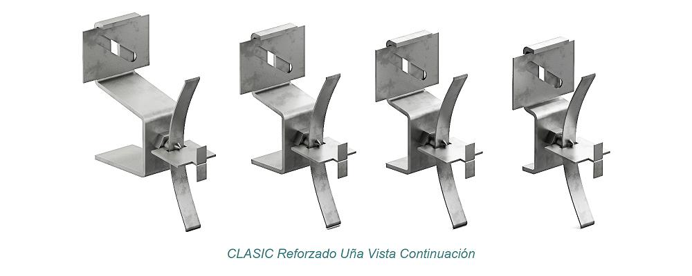 Anclaje CLASIC Uña Vista - Reforzado. Continuación