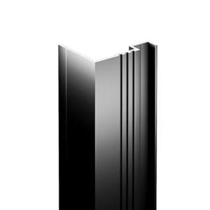 """Perfiles verticales de aluminio con sección en """"L"""" (Remate Lateral)"""