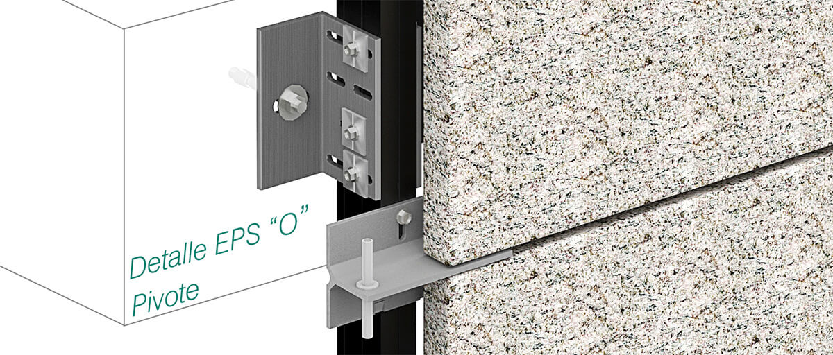 Anchorage Epslion O - Pivot Clip Fasteners- Strow Sistemas