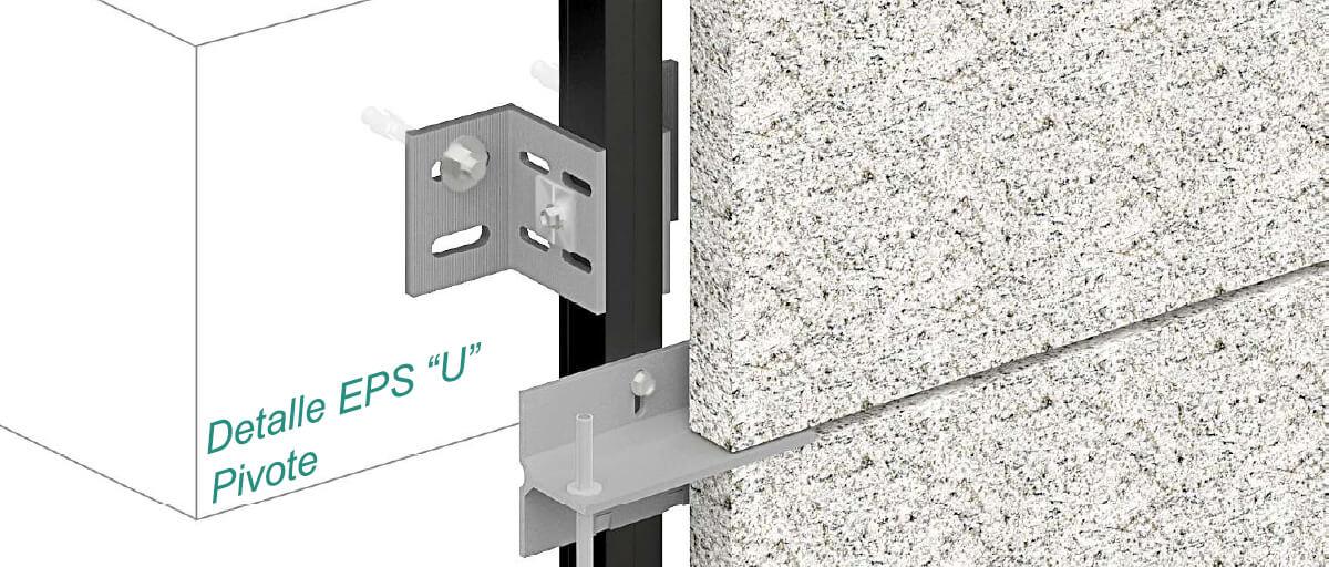 Epsilon U - Pivot Clip Fasteners - Strow Sistemas