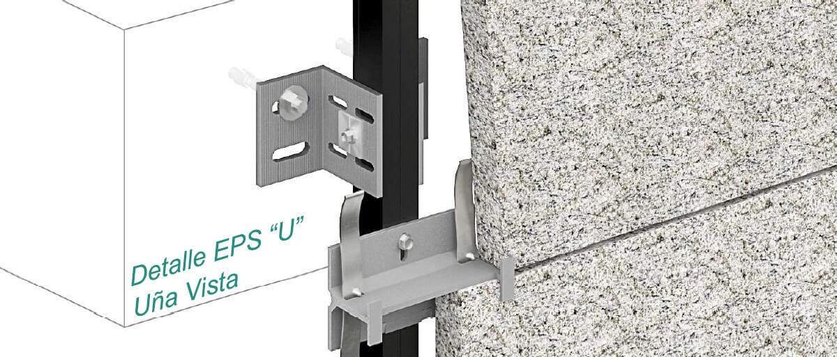 Epsilon U - Visible Clip Fasteners - Strow Sistemas