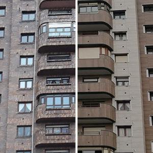 Edificio de Viviendas en Avenida de los Castros - comparar antes y después