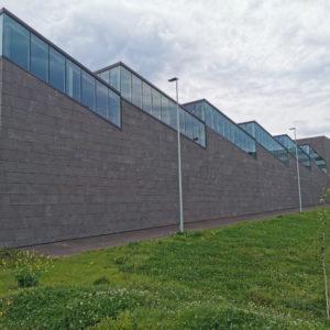 AZTERLAN Centro de Investigación Metalúrgica · Mármoles Zamar · Foto 2 · Anclajes Fachadas Ventiladas Strow