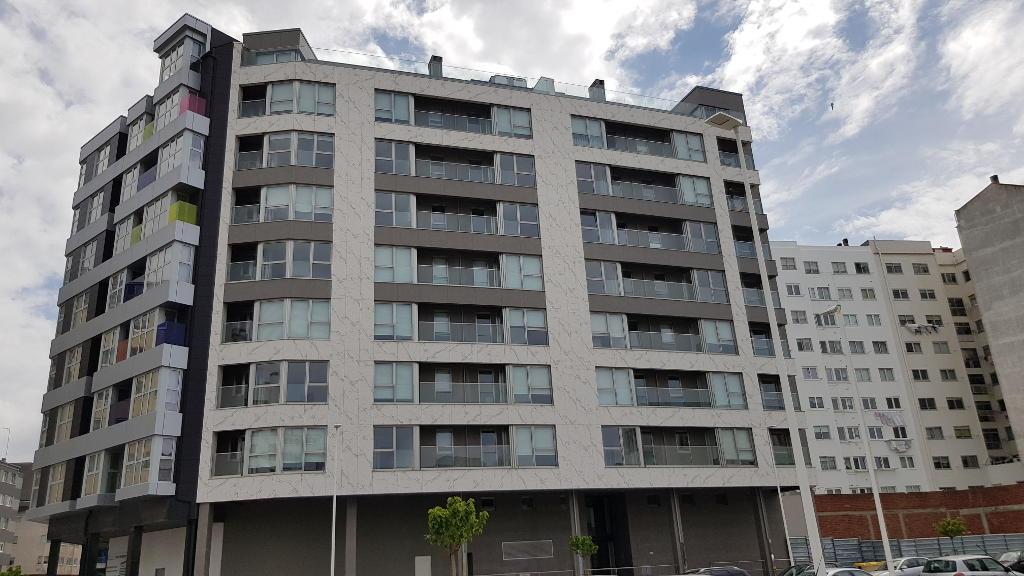 Residential Building in Paseo de Ronda (A Coruña) · Marmolería José Rey · Anclajes Fachadas Ventiladas Strow