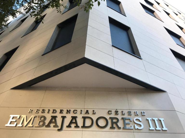 Residencial Célere Embajadores 111 · Naturpiedra JBernardos · Foto 5 · Anclajes Fachadas Ventiladas Strow