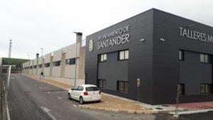 Municipal Garages Local Police Santander · Siecsa · Foto 1 · Anclajes Fachadas Ventiladas Strow