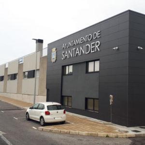 Talleres Municipales Policía Local Santander · Siecsa · Foto 1 · Anclajes Fachadas Ventiladas Strow