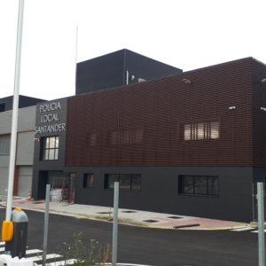 Talleres Municipales Policía Local Santander · Siecsa · Foto 2 · Anclajes Fachadas Ventiladas Strow