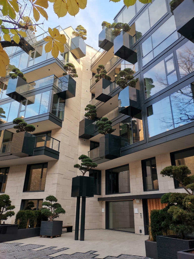 Strelnieku, 5 Building (Riga, Letonia) · AKMENS BALTIJA · Foto 1 · Anclajes Fachadas Ventiladas Strow