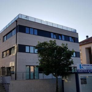 As Galeras Housing Development · Marmolería José Rey · Foto 1 · Anclajes Fachadas Ventiladas Strow