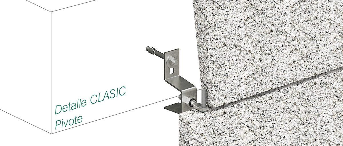 Anclaje CLASIC - Pivote - Strow Sistemas