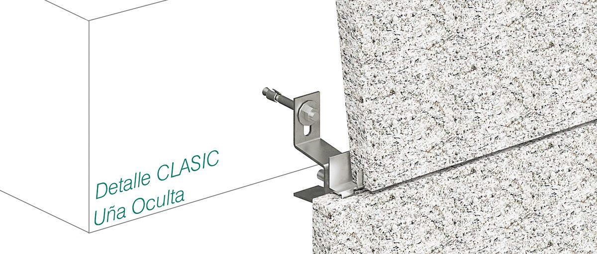 Anclaje CLASIC - Uña Oculta - Strow Sistemas