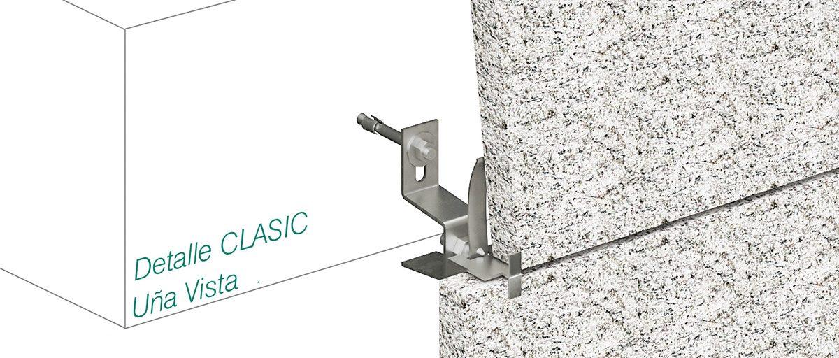 Anclaje CLASIC - Uña Vista - Strow Sistemas