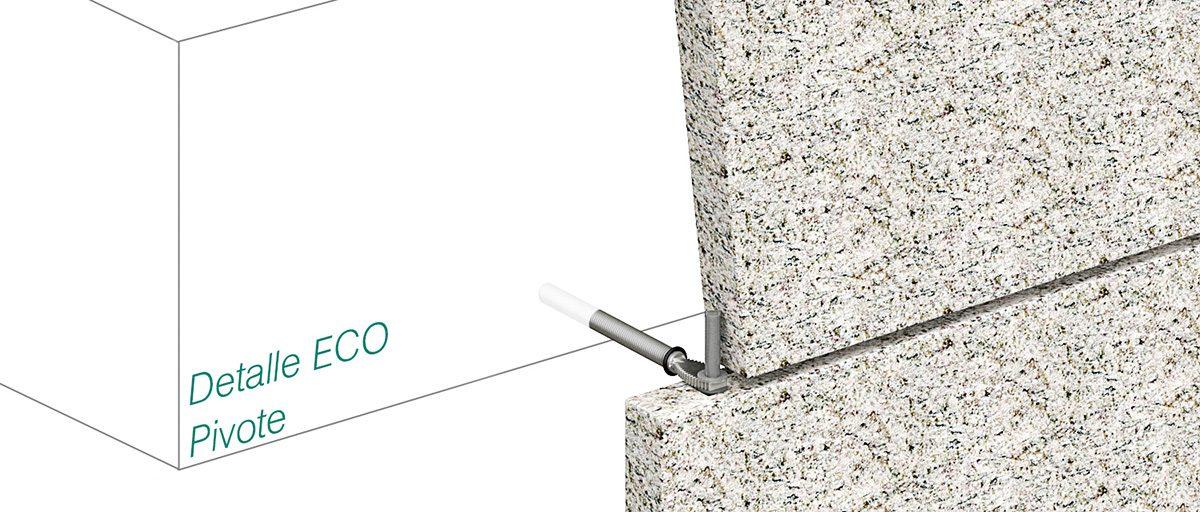 Anclaje ECO - pivote - Strow Sistemas