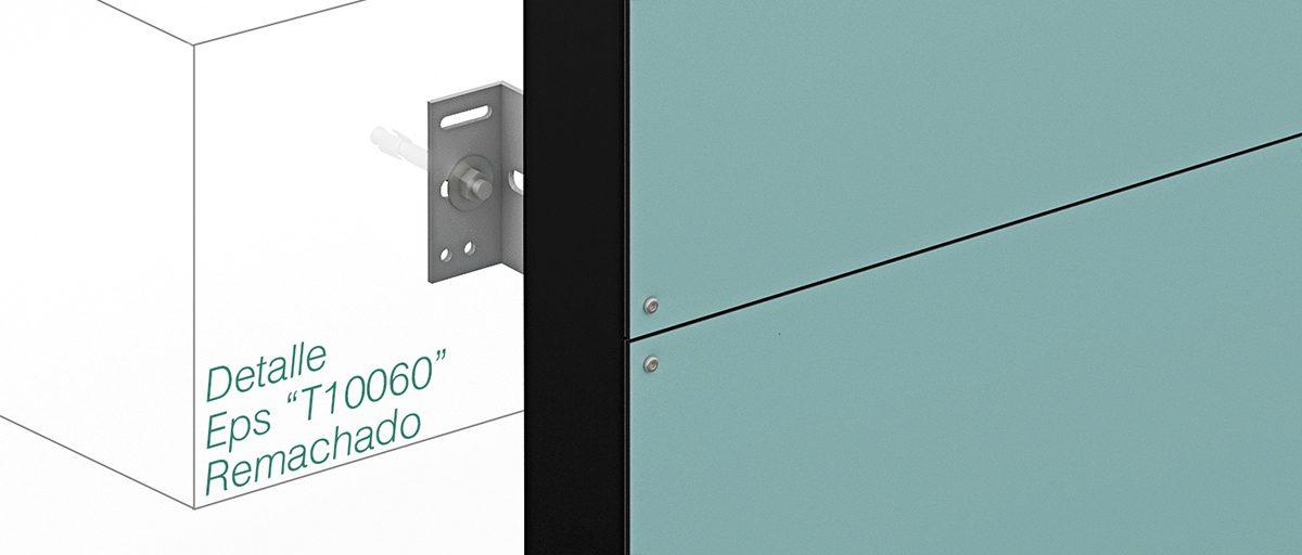 System Epsilon T100x60 – Rivets - Strow Sistemas
