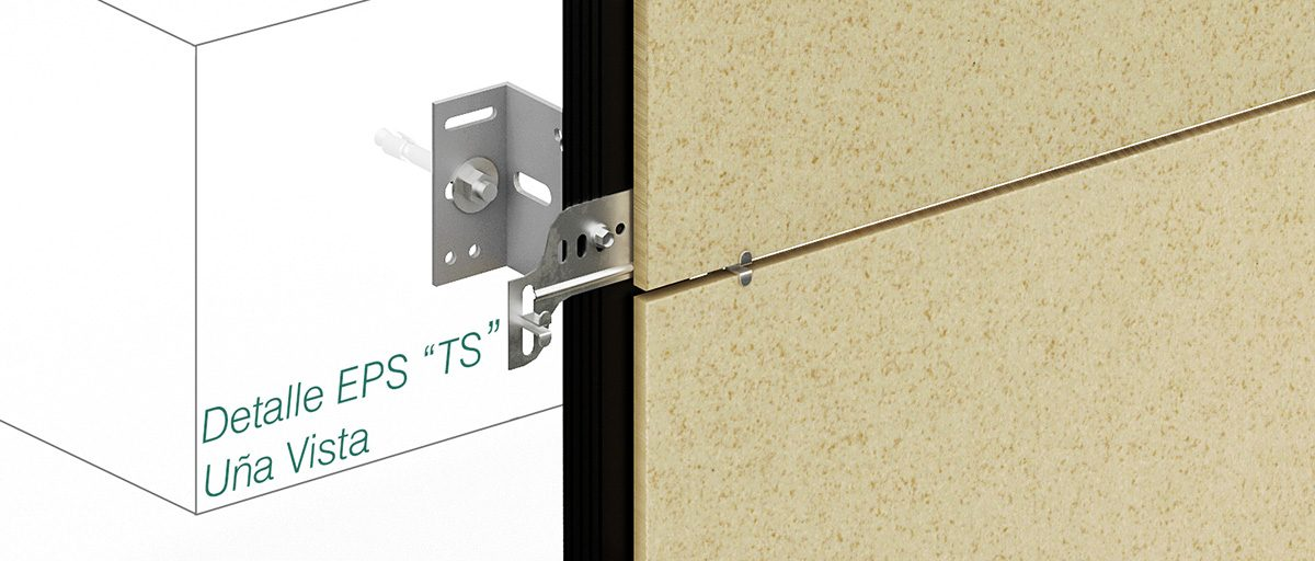 System Epsilon TS - Visible Clip Fasteners